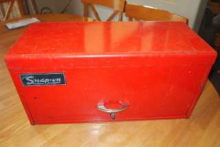 Snap On KRA 53   3 Drawer Top Tool Box Chest Dated 1970   Old logo