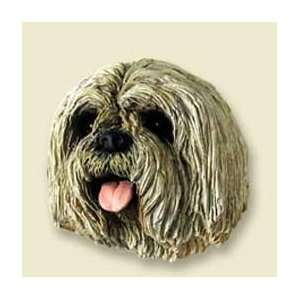 Lhasa Apso Dog Magnet   Tan: Kitchen & Dining