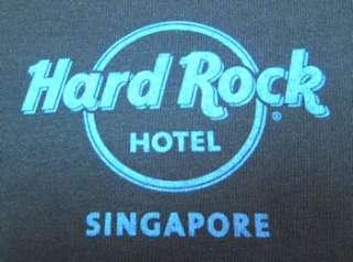 Hard Rock Hotel Singapore City T Shirt   Nice Image XXL