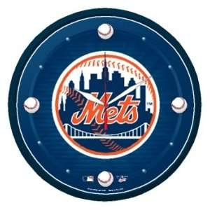New York Mets Logo Clock