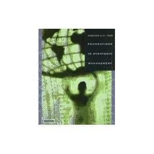 Foundations in Strategic Management Books