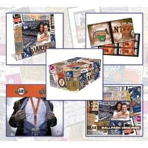 San Francisco Giants Ticket Themed 5 Piece Gift Set