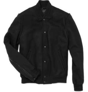 Coats and jackets  Bomber jackets  Wool Blend Varsity Jacket