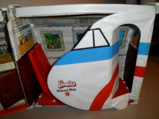 Barbie #8639 United Airlines FriendShip Plane Vintage 1972 Toy Doll