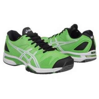 Athletics Asics Mens GEL Solution Speed Green/White/Black Shoes