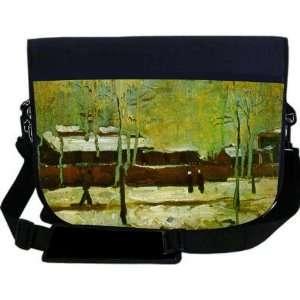 Van Gogh Art Old Station NEOPRENE Laptop Sleeve Bag