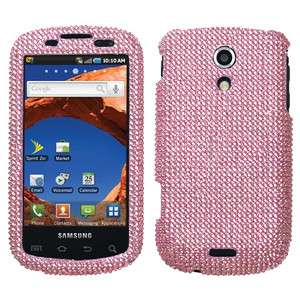 Pink Bling Hard Case Cover For Samsung Epic 4G Sprint