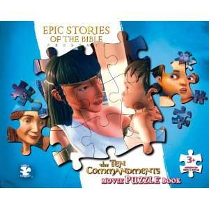 The Ten Commandments Movie Puzzle Book (Epic Stories of