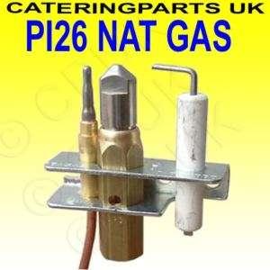 PI26 OXYGEN DEPLETION NAT GAS PILOT BURNER ASSEMBLY