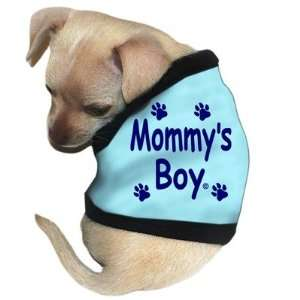 Mommys Boy Dog Tank in Blue Size See Chart Below X Large