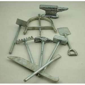 Warriors Tools / Herramientas de los Guerreros, Plated