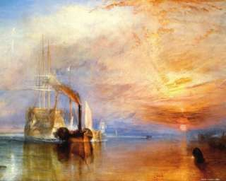 Joseph William Turner   Temeraire Poster Bild #10789