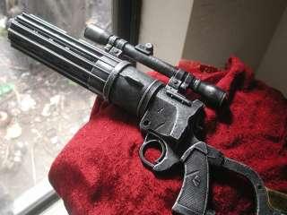 STAR WARS BOBA FETT BLASTER GUN STEAMPUNK LIGHTS SOUND