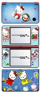Nintendo DSi XL Skin Hello Kitty (B) Vinyl Folie Sticker Aufkleber