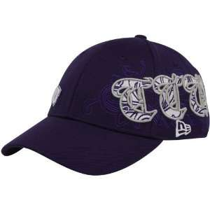 New Era Texas Christian Horned Frogs Purple Sweeper