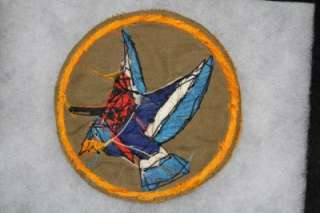 100% ORIGINAL WW2 US AIR FORCE 345th Devilhawk FIGHTER SQUADRON PATCH