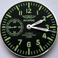 Авиатор MOLNIJA molnia for USSR pilot MILITARY WATCH Top