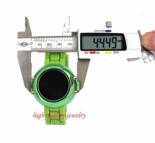 Storm LED Digital Date Mirror Men Lady Silicone Sport Watch