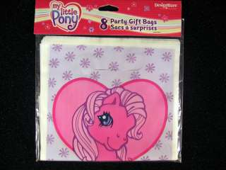 My Little Pony Party Gift Bags Treat Sacks Supplies Favors