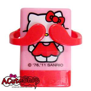Sanrio Hello Kitty Peek a boo Stamps Seal Signet