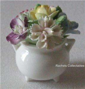 1940s ROYAL ADDERLEY ENGLISH BONE CHINA FLORAL POSY