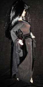 Elvira Mistress of the Dark ~ OOAK GOTHIC Barbie doll