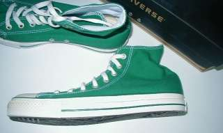 converse all star shoes chuck taylor 9.5 green