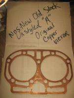 NOS John Deere A AR AO Unstyled Antique Tractor Head Gasket Copper