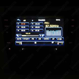 03 07 Honda Accord Car GPS Navigation Bluetooth Radio DVB T TV DVD AUX