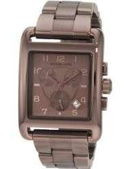 Michael Kors Quartz Brown Chronograph Dial Womens Watch MK5496 NEW