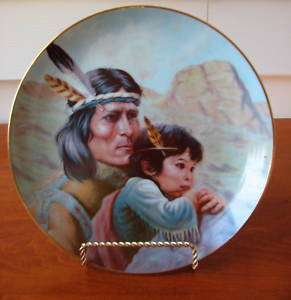 Perillo KIOWA NATION Americas Indian Heritage Plate