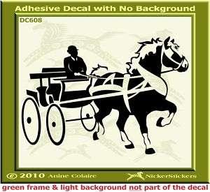 Belgian Draft Horse Driving Trailer Decal Sticker 608