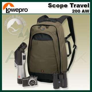 Lowepro Scope Travel 200 AW Spotting Scope Binoculars Tripod Camera