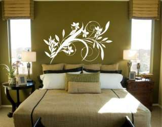 Vinyl Wall Decal Sticker Floral Arrangements (S)