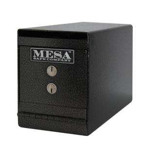 MESA Safe Key Lock 8 in. Undercounter Depository Safe MUC2KCSD at The