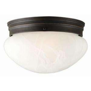 Design House Millbridge 2 Light Oil Rubbed Bronze Ceiling Light