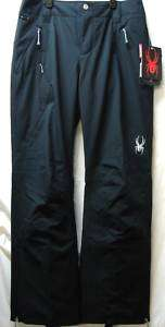 Spyder Circuit Snow Ski Pants Black Womens 4 NEW