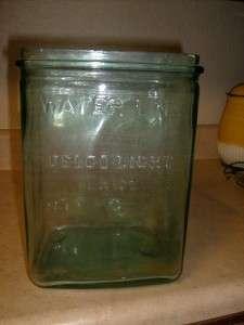 DELCO LIGHT EXIDE OLD GLASS BATTERY CASE INSULATOR   MADE IN USA