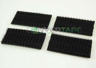 3M DUAL LOCK HEAVY DUTY VELCRO STICKY PADS BLACK 4 PACK