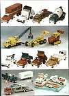AD Structo Fire Truck Transport Dump Sand Loader Crane Buddy L Tonka
