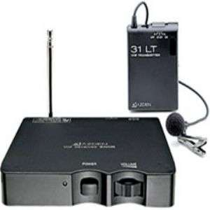 Azden 200 LT/A3 Single Channel VHF Wireless Microphone System   A3