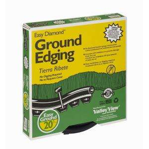 Valley View Industries Easy Diamond 20 ft. Ground Edging EDG 20 at The