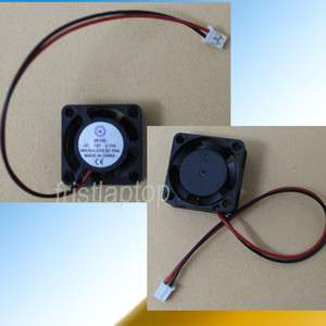 Brushless DC Cooling Fan 5 Blade 12V 0.1A 25mm x25mmx10mm 2 Wire plug