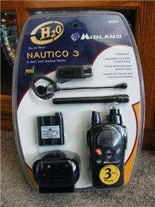 Midland NT3VP Nautico 3 Waterproof Marine VHF Radio NEW