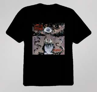 Death Symbolic Album Rock Band T Shirt