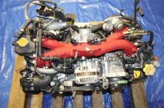 2006 SUBARU IMPREZA WRX STI COMPLETE TURBO ENGINE 83K GD7 EJ257