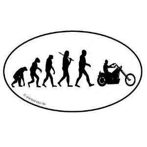 CHOPPER BIKER ROCKER MOTORRAD EVOLUTION serie 1.0 Aufkleber