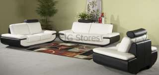 CHINTALY AUSTIN LEATHER SOFA LOVESEAT TWO PIECE SET