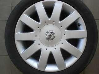 Original Nissan Primera P12 17 Zoll ALUFELGEN Felgen