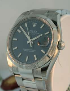 Rolex Oyster Perpetual Date Stainless Steel 34mm NEW $6,150.00 Watch